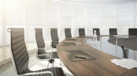 Conference room - close-up --- Image by © Viaframe/Corbis